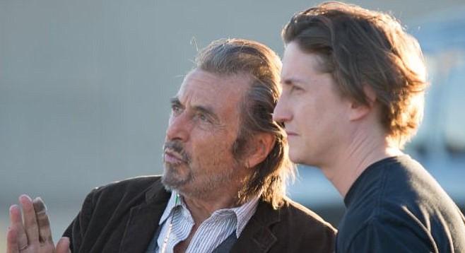 Al Pacino and David Gordon Green