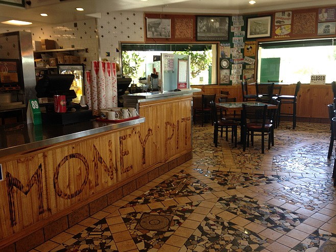 Drive-thru customers might never realize the Money Pit has an interesting interior.