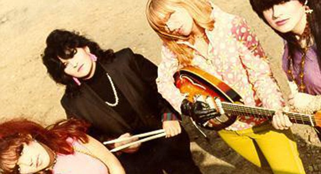 L.A. ladies the Pandoras bring paisley power to Casbah Friday night!