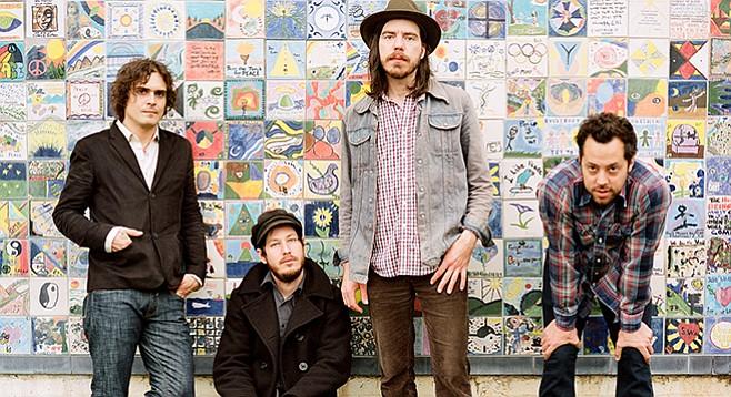 SanFran folk-rock band Vetiver split a bill with da Donks at the Irenic on Thursday.