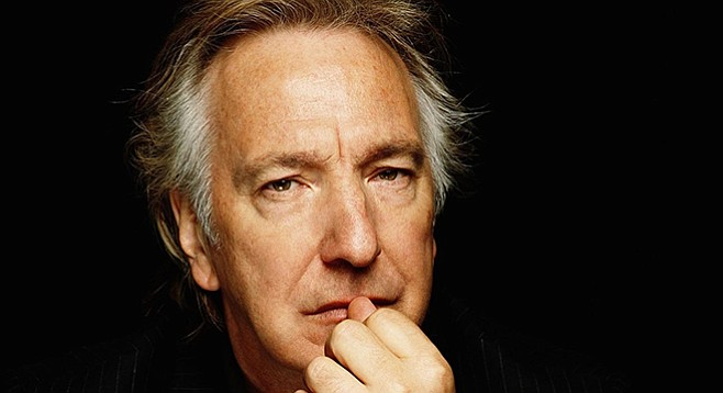 Alan Rickman, director and star of A Little Chaos