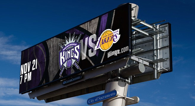 Billboards were central to an alleged covert side deal made between Sacramento and the new owners of the Kings basketball team. Could such an agreement between San Diego and the Chargers sweeten a stadium deal?