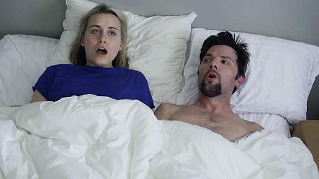 The Overnight's Taylor Schilling and Adam Scott