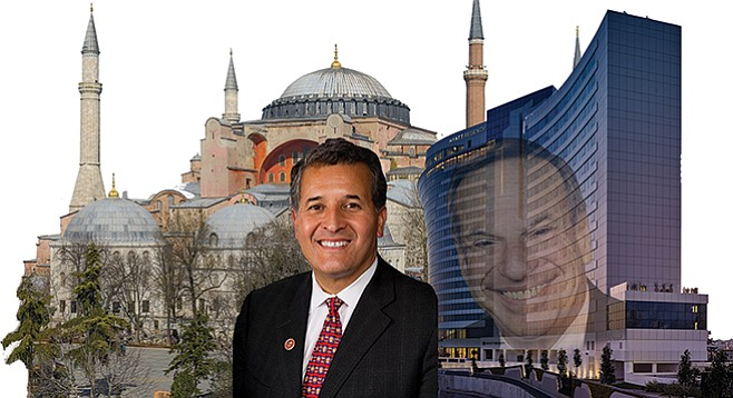 Juan Vargas tripped to Turkey in the interest of national security. (Predecessor Bob Filner's Turkish sojourn was funded by the controversial Gulen movement.)