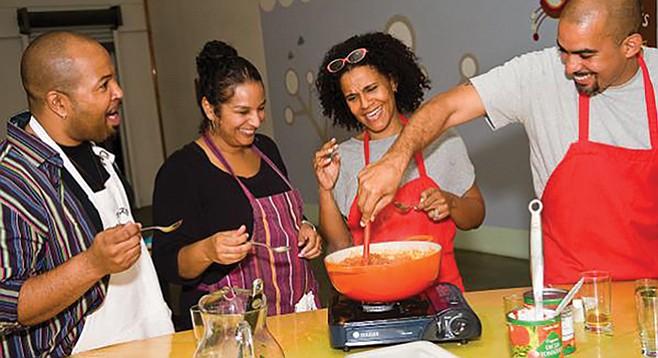 Happy cooks at Hipcooks