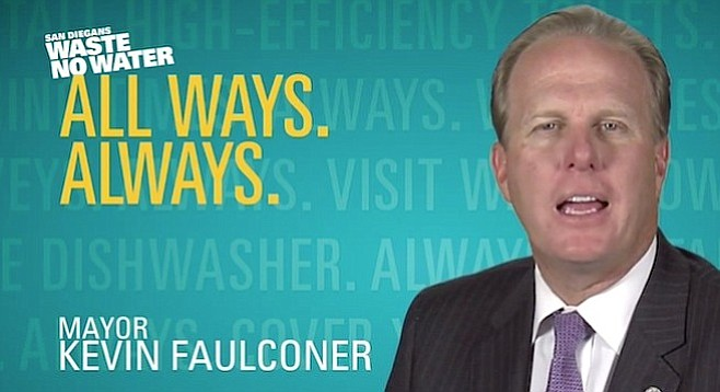 Faulconer does best in pre-scripted events, veteran political observers note.