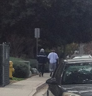 Teenagers seen trying car doors several times before they made their way to Field Street in Clairemont, February 21 at 11:30 a.m.