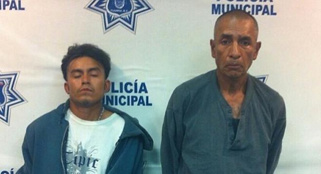 Mauro Arrillaga Mayahua and Juan Antonio Robledo Magallanes