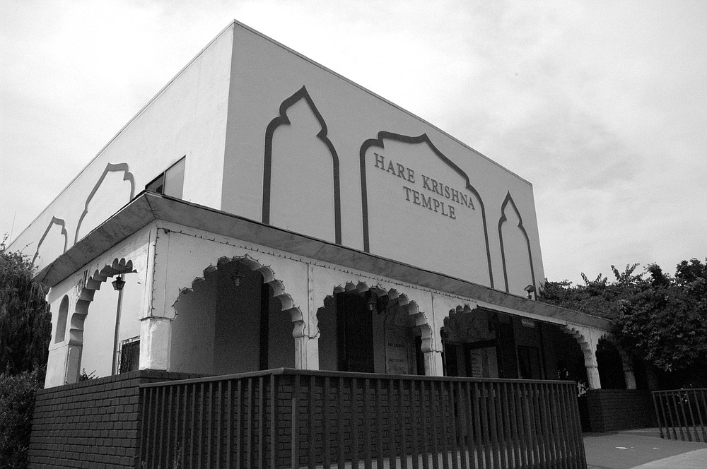 """The Pacific Beach temple is the only one that does the puja [worship] in the strict, authentic way."""""""