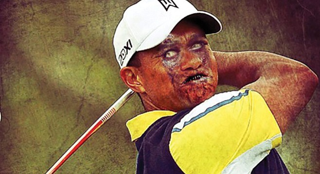 How long can Zombie Tiger Woods stay on the tour? Short answer: for as long as he cares to continue.