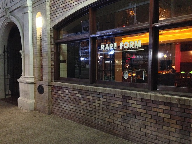 The rare urban-looking San Diego restaurant