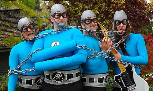 Them costumed crusaders of cable TV the Aquabats hit House of Blues on Thursday night!