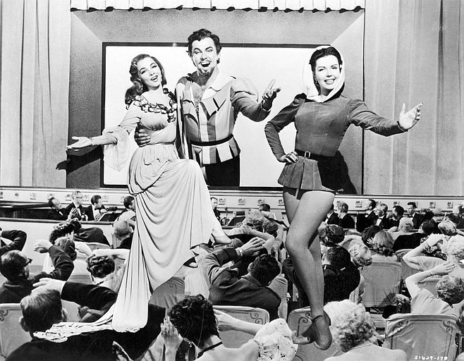 Attack of the 50-Foot Thespians: Kathryn Grayson, Howard Keel, and Ann Miller