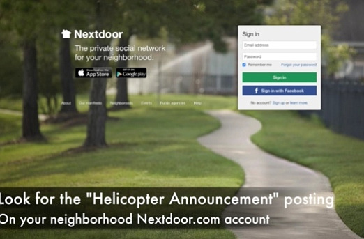 Loud AND Clear, finally, on NextDoor.com