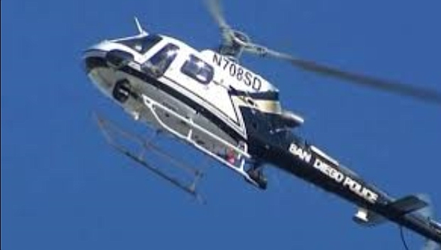SDPD Helicopter on the lookout.