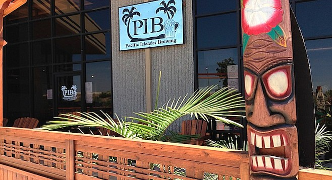 The island vibe has been bringing beer fans to Santee.