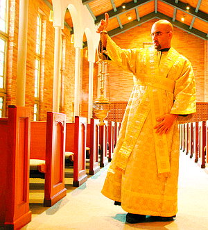 """Campus Crusade for Christ's  Jon Braun, now Father Jon Braun, Orthodox priest: """"I knew that the Roman Catholic Church was evil because that's what I was taught."""""""