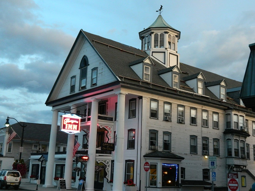 Thayer's Inn in Littleton is a town landmark.