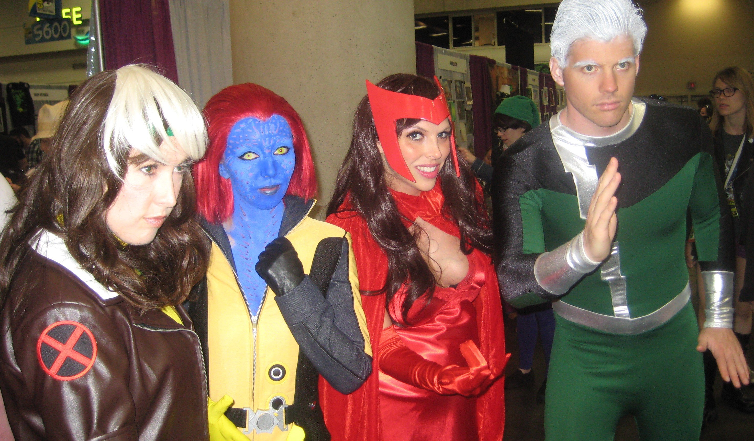 Comic-Con 2015: X-Men (Rogue and Mystique) and Avengers
