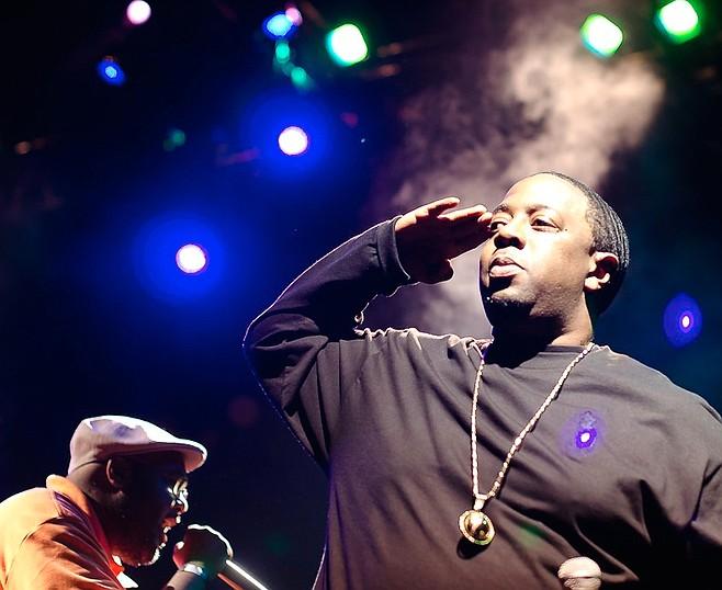 Sacramento rap act Blackalicious rock the mic at Belly Up Wednesday night!