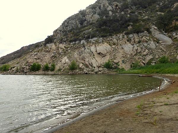 Loveland shoreline