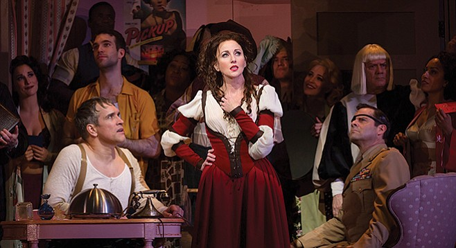 "In Shrew, Kate's the target; the Globe's Kiss Me, Kate could be subtitled ""Kate's Revenge."""