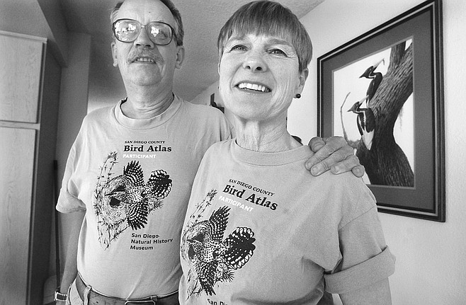 "Rich and Susan Breisch. Susan: ""All of a sudden a Border Patrol vehicle comes up out of nowhere, and he doesn't look at our faces. He's looking at our feet. And he says something like, 'Oh, darn. I've been tracking you.' """