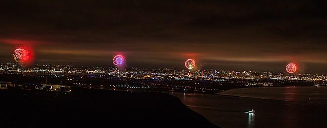 Cabrillo Monument fireworks