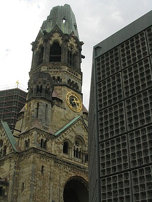 Kaiser Wilhelm Memorial Church.