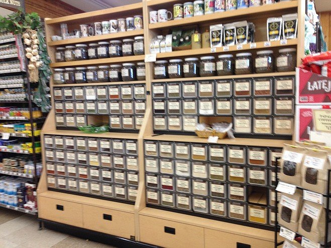 Spices by the ounce