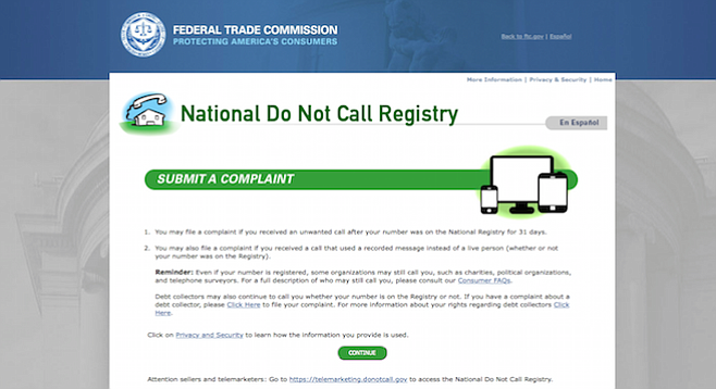 If you've got the patience and time, the Federal Trade Commission will allegedly listen.