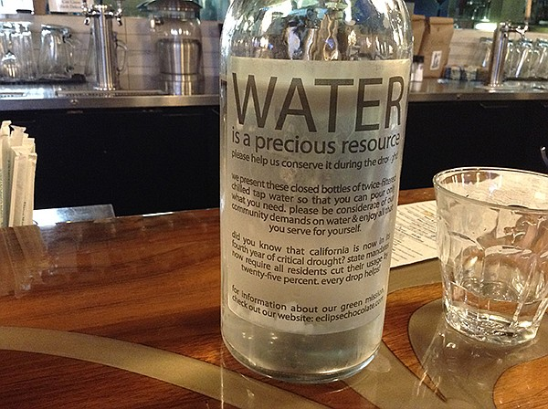 Water is a precious resource