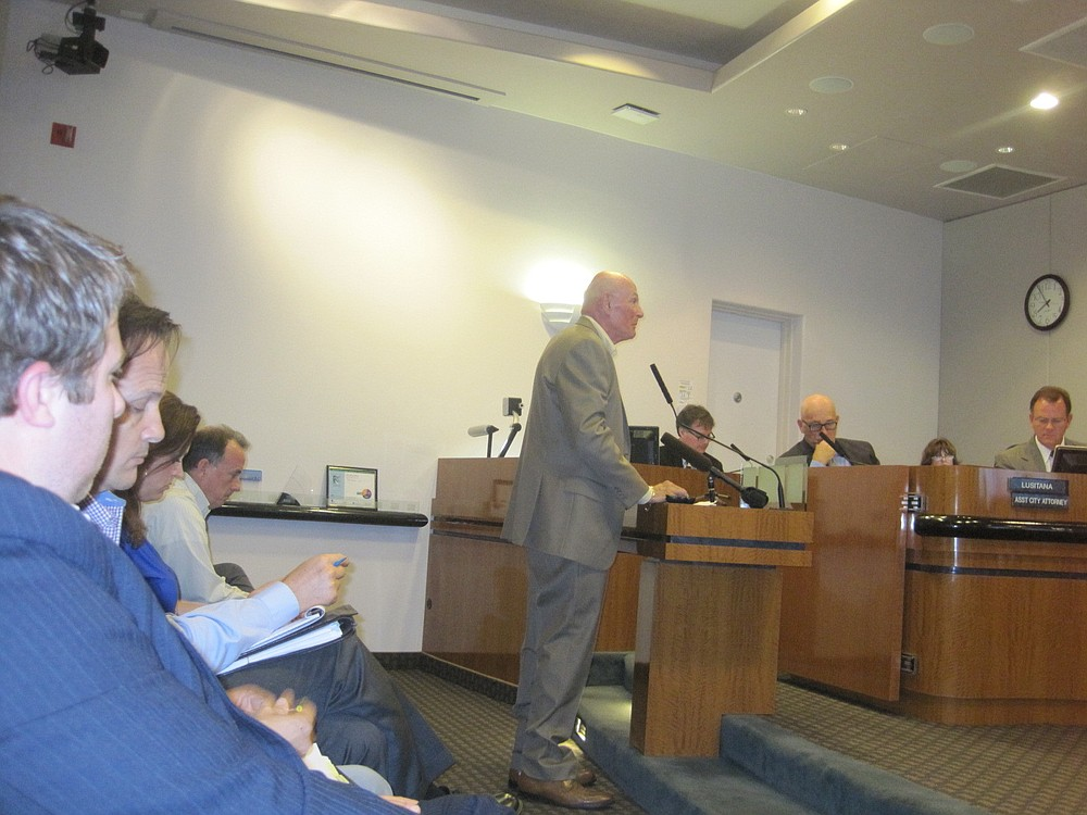 Sherman Harmer testifies at May 20 hearing