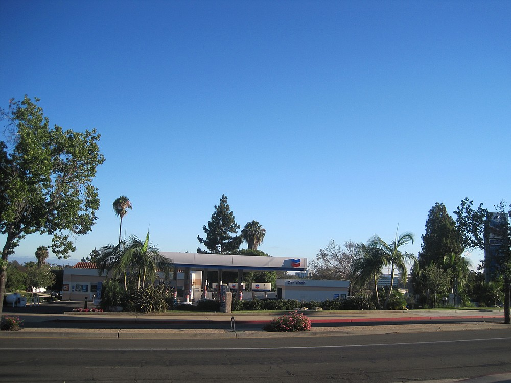 Chevron station at 6301 Del Cerro Blvd.