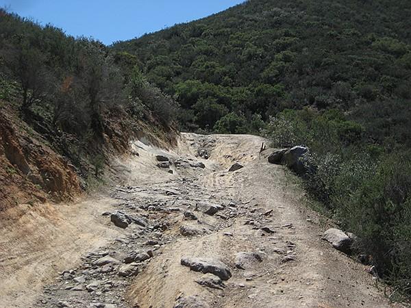Lawson Peak trail