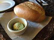 Bread and herbed butter