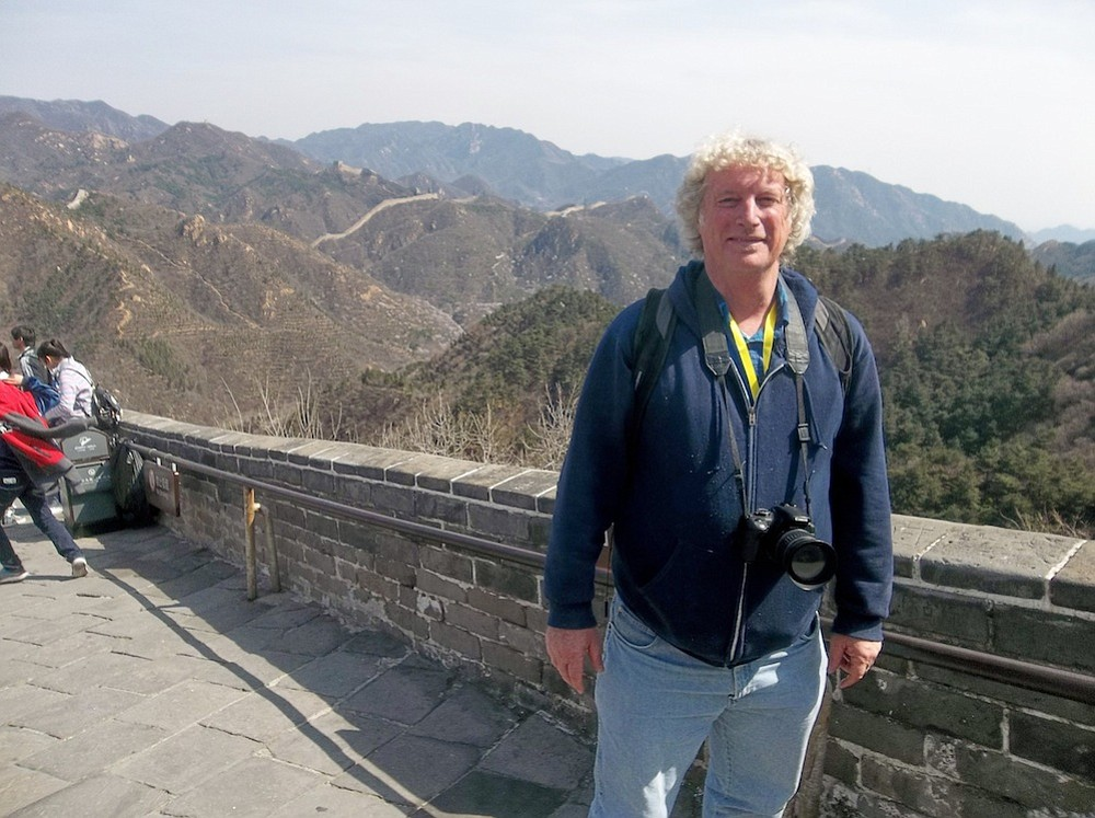 The author on the Great Wall.