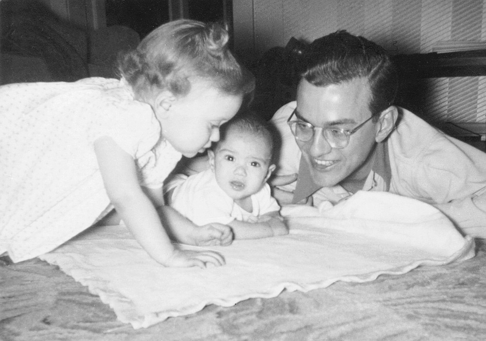 John Brizzolara with his sister and father. Robert Brizzolara died of a heart attack while on a fishing trip in Wisconsin in September 1968. He was 49 years and seven months old. In July of this year, I will be that age precisely.
