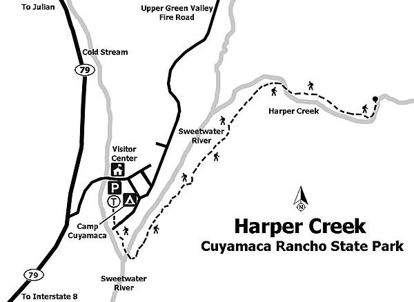 Harper Creek, Cuyamaca Rancho State Park