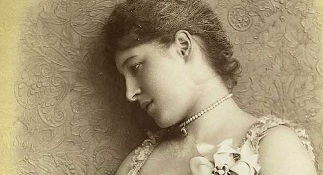 Lillie Langtry, 1885 - Image by William Downey/The National Archives UK