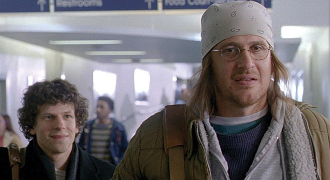 The End of the Tour: David Foster Wallace deals with being David Foster Wallace.
