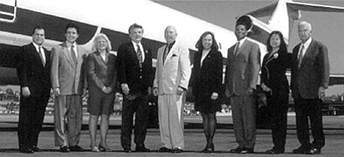 Inaugural airport authority board