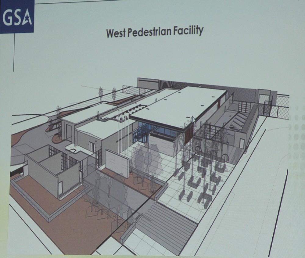 West Pedestrian Facility