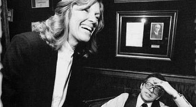 Nancy Hoover and J. David Dominelli