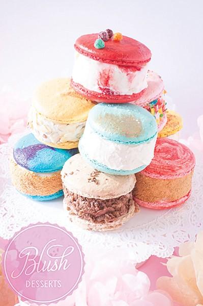 Blush's ice cream sandwiches