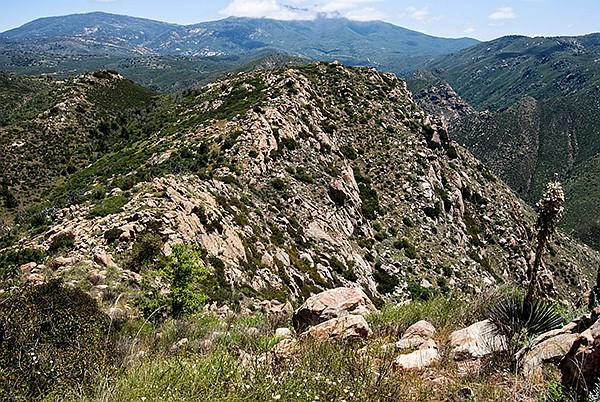 Looking east from Eagle Peak