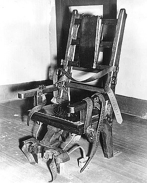 Electric chair that executed Sacco and Vanzetti
