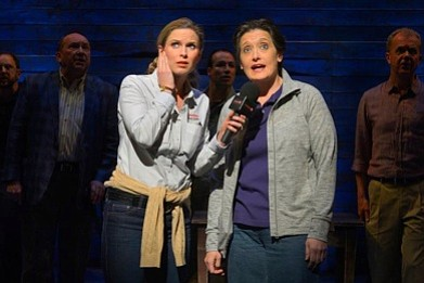 Allison Spratt Pearce in Come From Away at La Jolla Playhouse