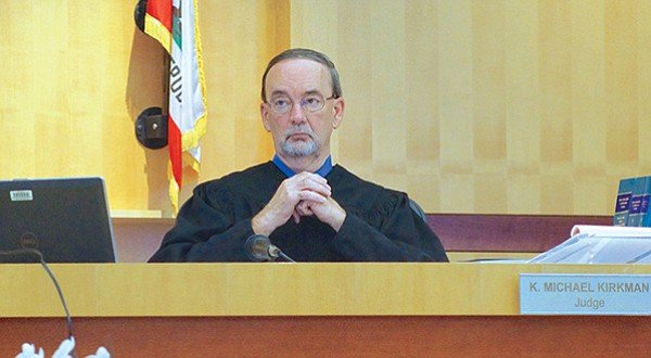 San Diego Superior Court judge K. Michael Kirkman will pronounce sentence.