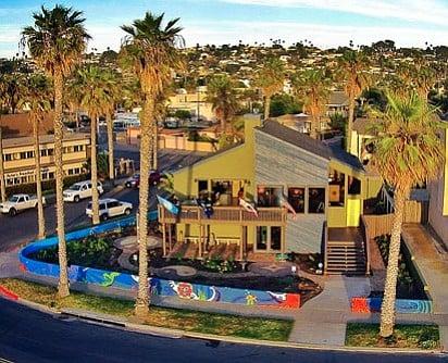 """Liquid Blue's """"Hippie House"""" in Ocean Beach"""